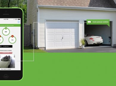 Modern Garage Door Openers Add Smart Capabilities to Garage Doors