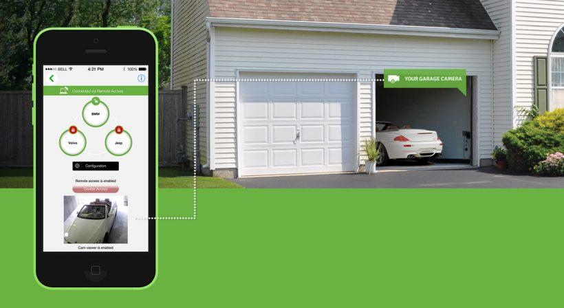 Modern Garage Door Openers Add Smart Capabilities to Garage Doors