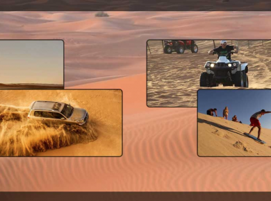 Trip to Dubai Desert Safari Made Easier Through High Tech Cruisers