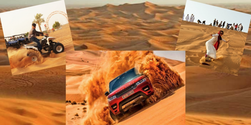Enjoyable Rides to The Dubai Desert Safari Through High Tech Cruisers