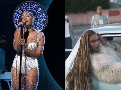 Solange 2016 SNL Hairstyle and Beyonce Knowles Lemonade Braids