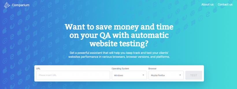 Comparium : Automated Website Testing Tool