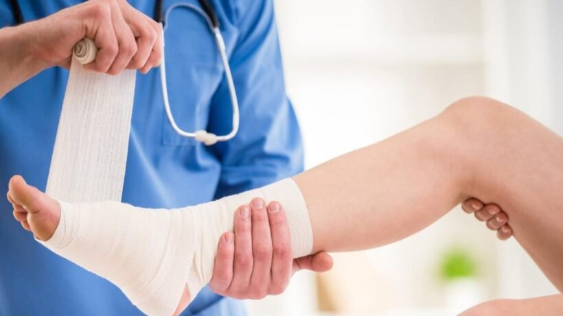 Diabetic Foot Ulcer Wound Care