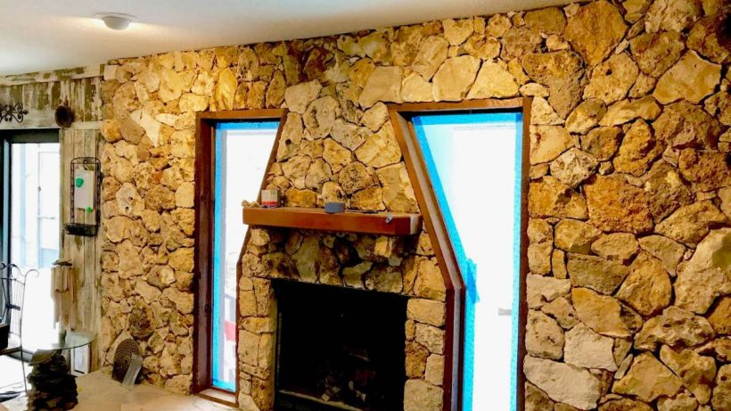 How to Create a Lava Rock Wall?